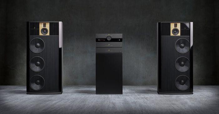 новые акустические системы Steinway Lyngdorf Model B